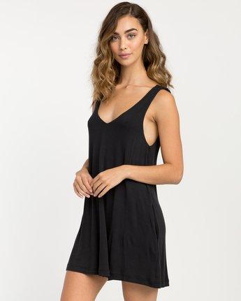 1 Chances Knit Tank Dress Black WD07NRCH RVCA