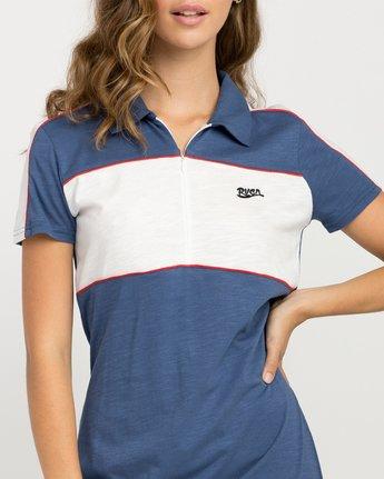 3 Hex Polo Zip Dress  WD07PRHE RVCA