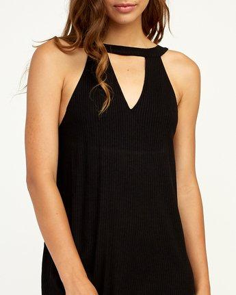 3 Brandy Knit Dress Black WD09TRBR RVCA