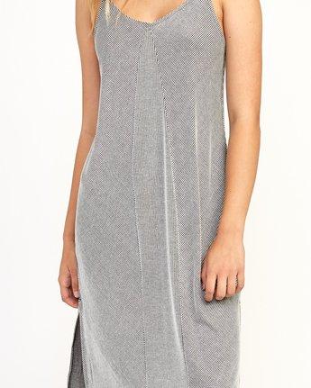 5 Layla Knit Midi Dress Black WD10TRLA RVCA