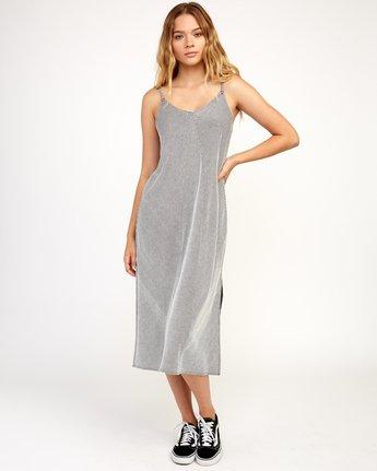 1 Layla Knit Midi Dress Black WD10TRLA RVCA