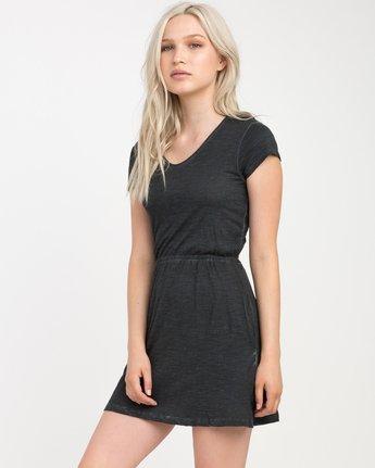 2 Shifter Knit Dress Black WD12NRSH RVCA