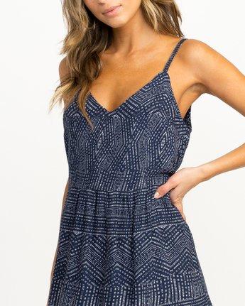 3 Nolan Printed Dress Blue WD14QRNO RVCA
