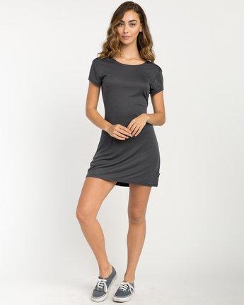 5 Wallflower T-Shirt Dress Black WD15PRWA RVCA