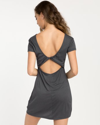 3 Wallflower T-Shirt Dress Black WD15PRWA RVCA