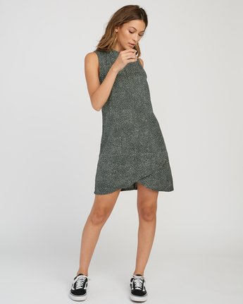 4 Safi Shift Dress Green WD17SRSA RVCA