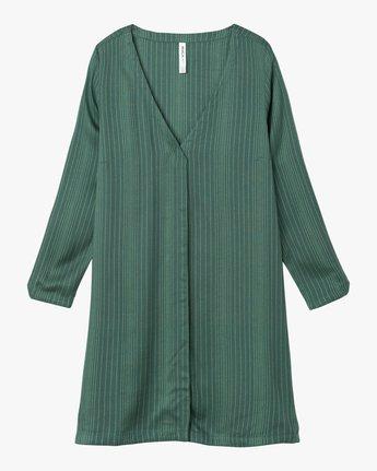 4 Foxy Lady Striped Shirt Dress  WD20NRFO RVCA
