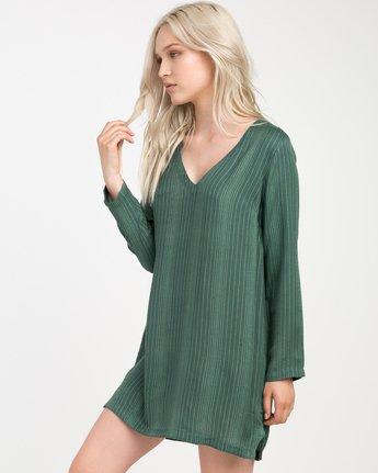 1 Foxy Lady Striped Shirt Dress  WD20NRFO RVCA
