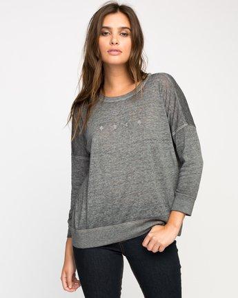 0 High RVCA Fleece Pullover  WF36M00H RVCA