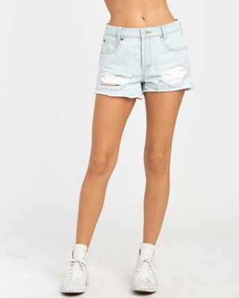 1 The BF Denim Shorts Blue WG201THE RVCA