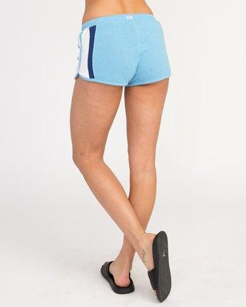 2 Boarderline Fleece Short Blue WL02PRBO RVCA