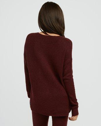 1 Urboyfriends Knit Henley Sweater Pink WL06SRUR RVCA