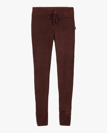 5 Creepin Sweater Knit Leggings Pink WL07SRCR RVCA