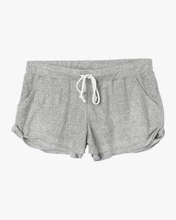 7 Whisper Fleece Soft Short Grey WL10TRWS RVCA