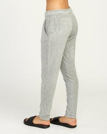 3 Whisper Fleece Pant Grey WL11TRWP RVCA