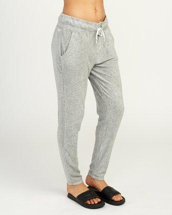 6 Whisper Fleece Pant Grey WL11TRWP RVCA