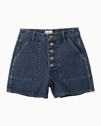 4 No Age High-Waisted Denim Shorts  WL201NOA RVCA