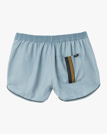6 Golden Days Chambray Short  WL203GOD RVCA