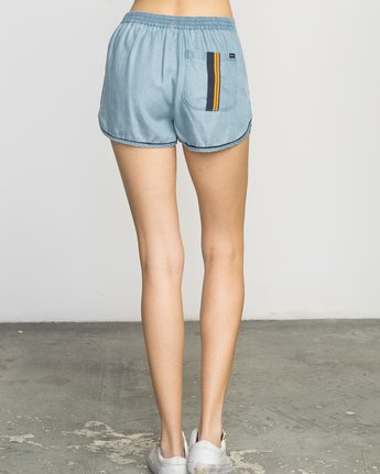 3 Golden Days Chambray Short  WL203GOD RVCA