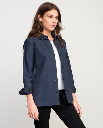 1 Bygone Button-Up Shirt Jacket  WL701BYG RVCA