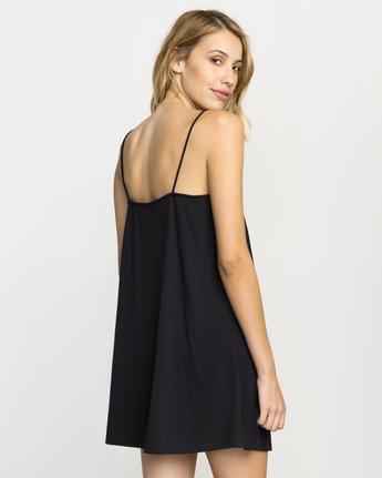 2 Rachel Swing Tank Dress Black WLD07RAC RVCA
