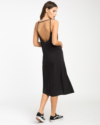 3 Chasing Shadows Midi Dress Black WLD13CHA RVCA