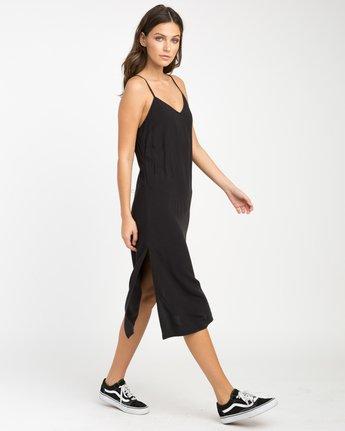 0 Chasing Shadows Midi Dress Black WLD13CHA RVCA