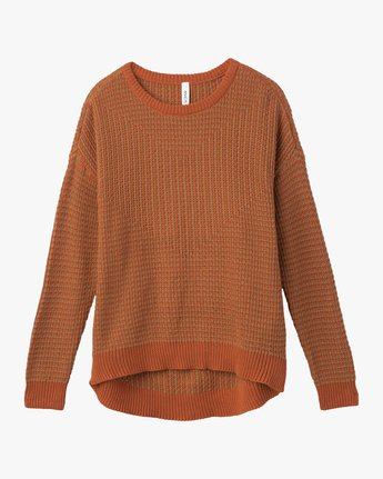 6 Light Up Knit Sweater  WLVV02LI RVCA