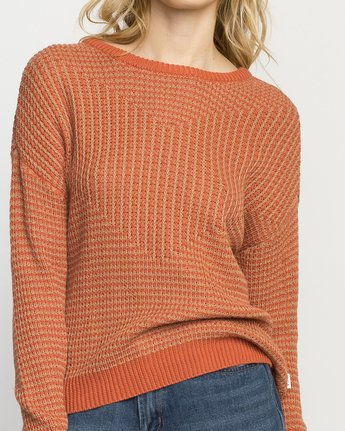 4 Light Up Knit Sweater  WLVV02LI RVCA