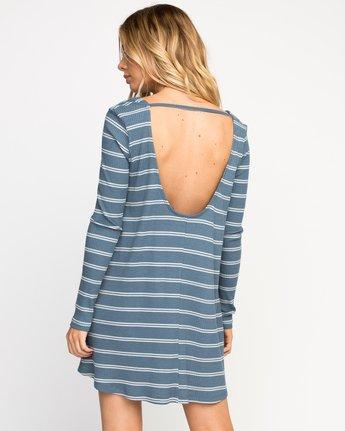 3 Time Table Striped Swing Dress  WMD03TIM RVCA