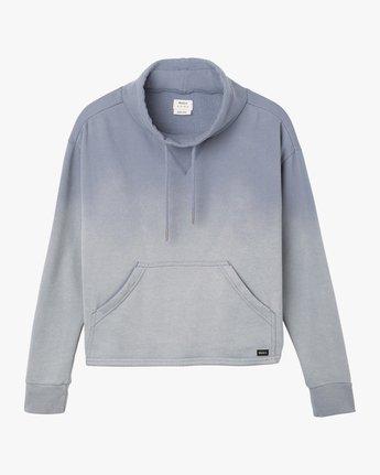 4 Smudged Cropped Pullover  WMFF02SM RVCA