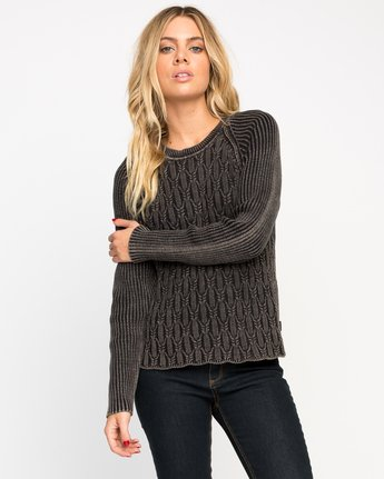 CHAINED SWEATER  WMVV01CH