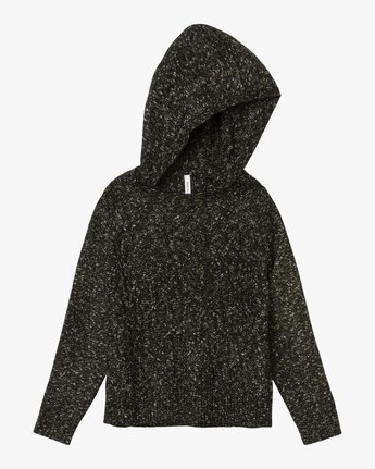 5 Snitty Hooded Sweater Black WV06QRSK RVCA