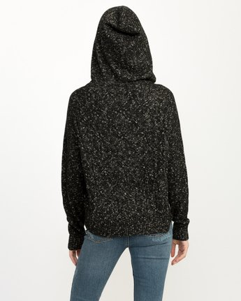 2 Snitty Hooded Sweater Black WV06QRSK RVCA