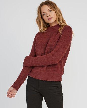 0 Mystars Knit Sweater Pink WV08SRMY RVCA