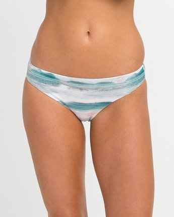 3 Washed Lines Full Bikini Bottoms  XB10NRWF RVCA