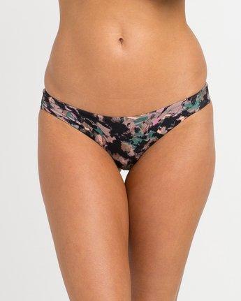 3 Camo Floral Cheeky Bikini Bottoms  XB13NRCC RVCA