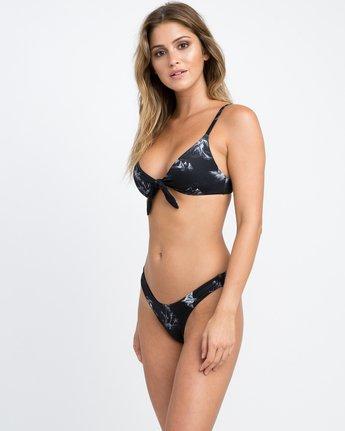 1 Danger Beach High Cut Bikini Bottom Black XB28PRHC RVCA