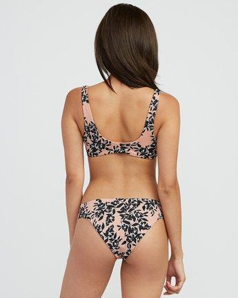 0 Isla Floral Medium Bikini Bottoms Beige XB33SRIF RVCA