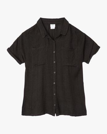 5 And Then Tunic Shirt Dress Black XC05PRAN RVCA