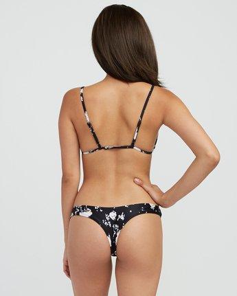 2 Cosmic Flower Triangle Bikini Top Black XT03SRCT RVCA