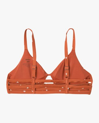6 Crossed Bralette Bikini Top  XT13NRCB RVCA