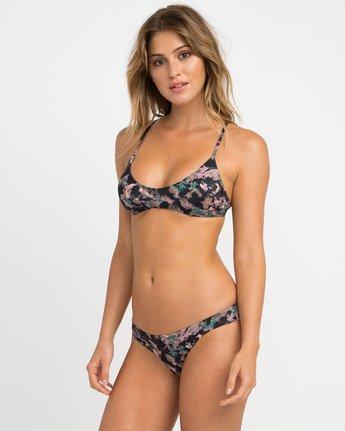1 Camo Floral Crossback Bikini Top  XT15NRCC RVCA