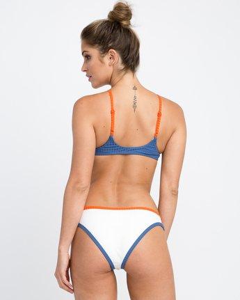 2 July Colorblocked Crop Bikini Top Multicolor XT15PRJC RVCA