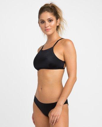1 Solid Bikini Crop Top  XT19NRSC RVCA