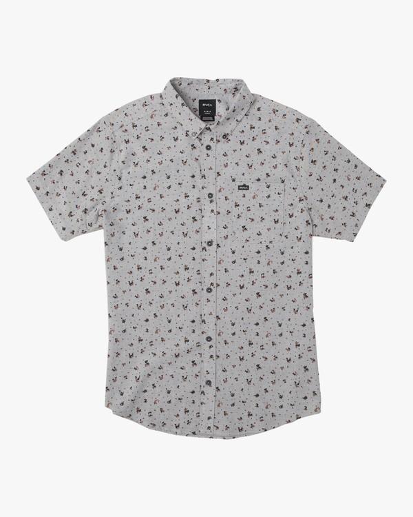 0 Boy's That'll Do Print Shirt Multicolor B508TRTP RVCA