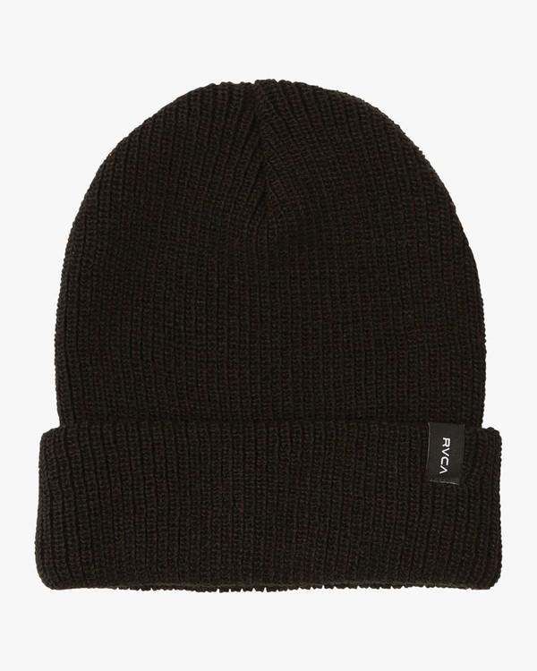 0 Boy's Dayshift Knit Beanie Black BABNSRDS RVCA