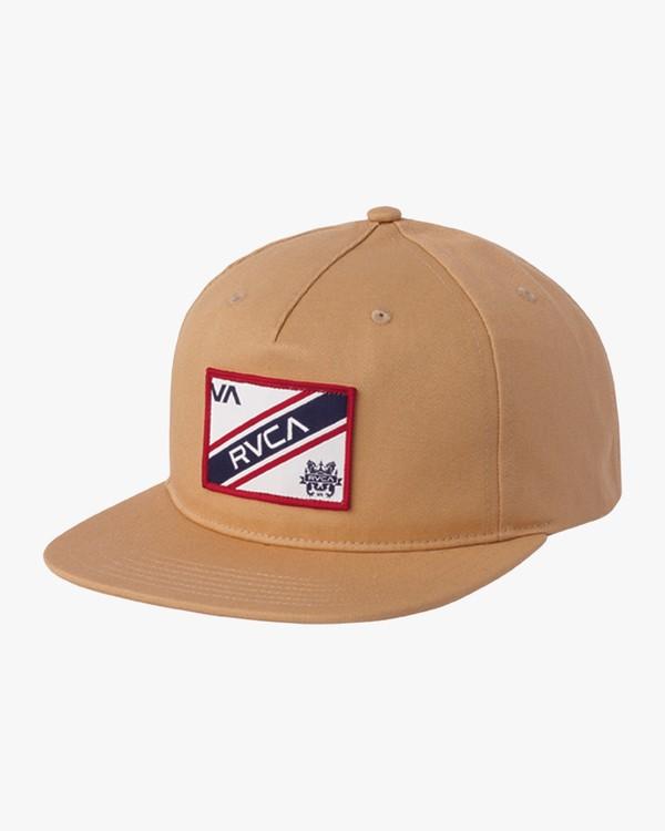 0 Boy's Places Snapback Hat Green BAHWSRNP RVCA
