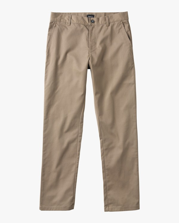 0 Boy's Weekday Stretch Pants Green BC301WDS RVCA