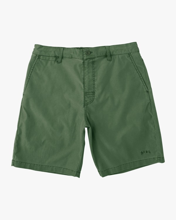 0 Canvas All Time Hybrid Short Green M202QRCA RVCA